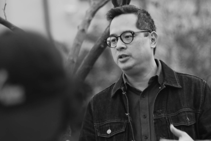 Jeff Chang in the field