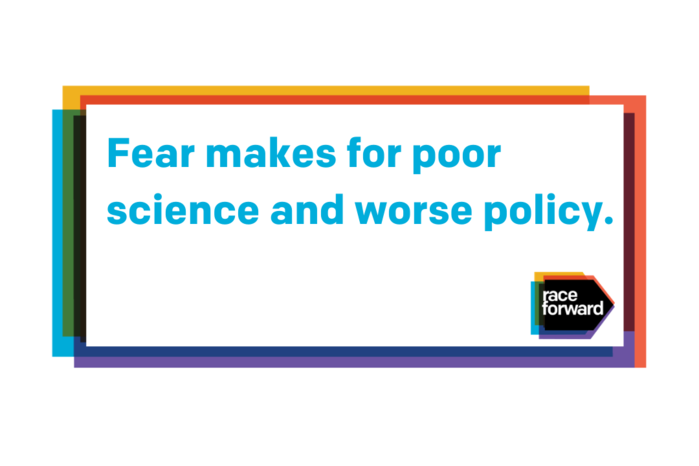 Fear makes for poor science and worse policy